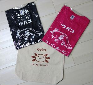 トートバッグとTシャツ